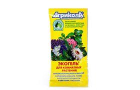 """Экогель """"Для комнатных растений"""" АГРИКОЛА, 20 мл. Активатор корнеобразования, роста, болезнеустойчивости и цветения растений."""